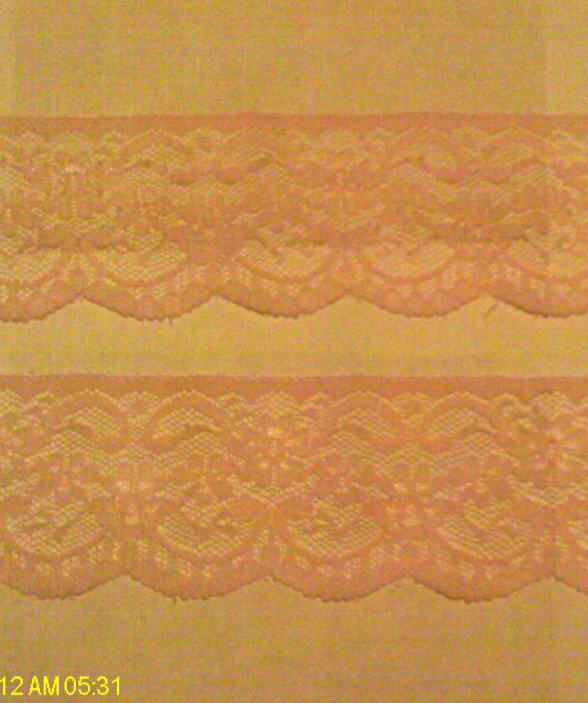 Quality Flat PINK lace 2in GOTH/TRIM/CRAFTS 3mts New